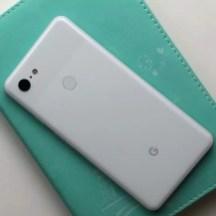 Imagen trasera del Google Pixel 3 XL