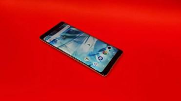 Imagen del frontal del Sony Xperia XZ3