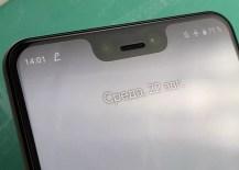 Notch del Google Pixel 3 XL