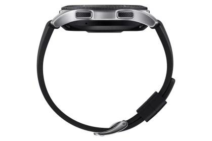 Lateraldel Samsung Galaxy Watch color plata