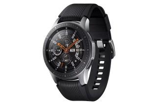 Diseño del Samsung Galaxy Watch color plata