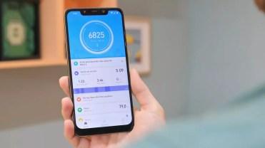Aplicación de la pulsera Xiaomi Mi Band 3