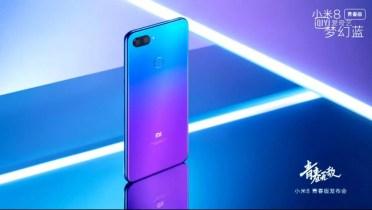Color dregadado del Xiaomi Mi 8 Youth Edition