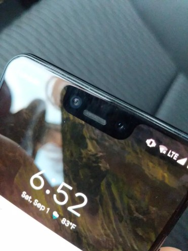 Notch del Google Pixel 3 XL