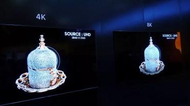 Opciones de rescalado en los Samsung QLED 8K