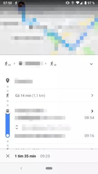 Uso Google Maps con nevegación en paralelo