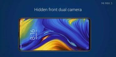 Imagen frontal Xiaomi Mi Mix 3