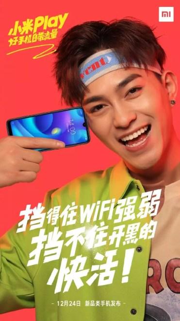Imagen frontal del Xiaomi Play