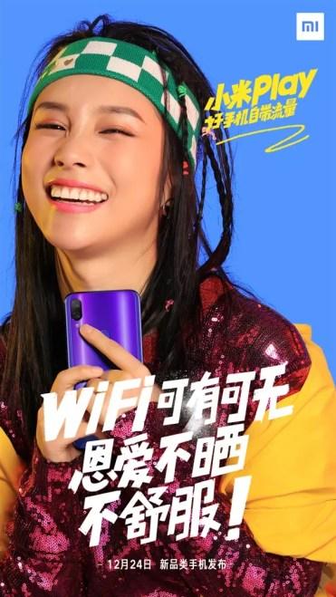 Imagen trasera del Xiaomi Play