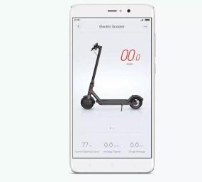 Aplicación de control de Xiaomi Mi Scooter M365