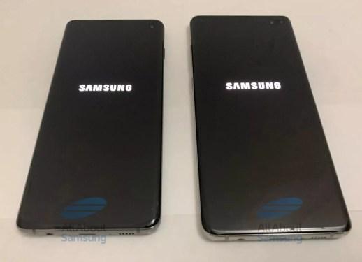 Inicio de los Samsung Galaxy S10