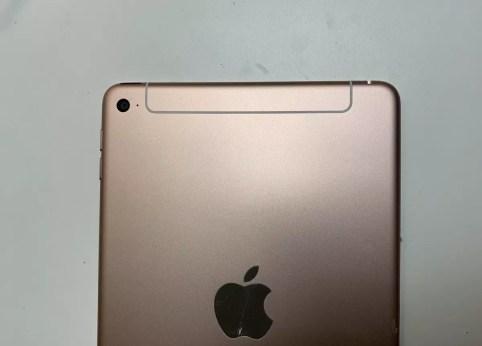 Parte superior trasera del iPad Mini