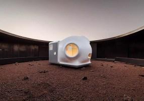 Ventana de la casa de Xiaomi para Marte