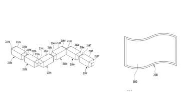 panel Samsung flexible y modular