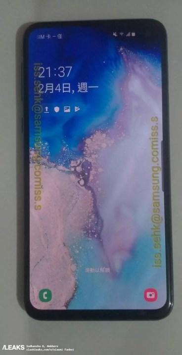 Imagen marcos del Samsung Galaxy S10e