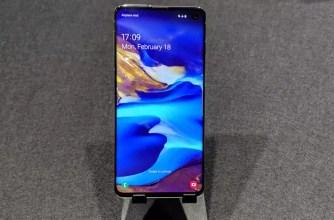 Panel del Samsung Galaxy S10