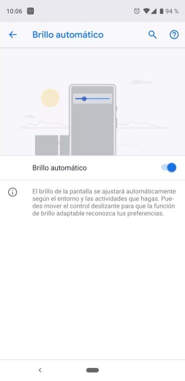 Gestión del brillo automático para corregir el parpadeo de la pantalla