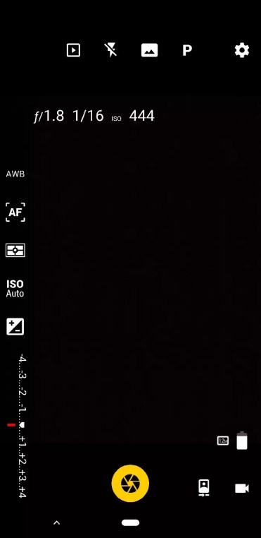Cámara FV-5 interfaz