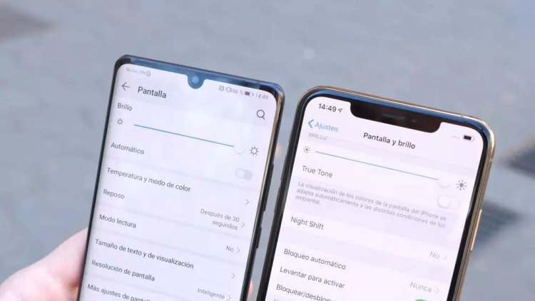 Huawei P30 Pro y iPhone XS Max