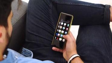 Uso del teléfono Samsung Galaxy Fold