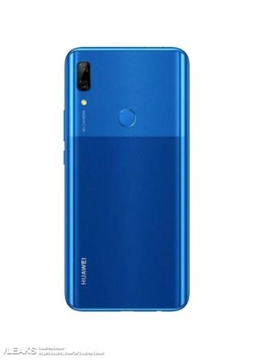 Imagen trasera del Huawei P Smart Z