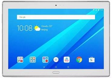 Frontal del tablet Lenovo TAB4 10 Plus