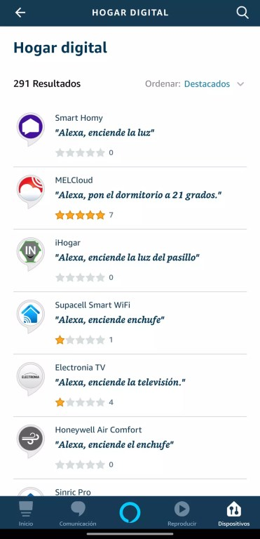 Skills de Alexa para Amazon Echo Dot