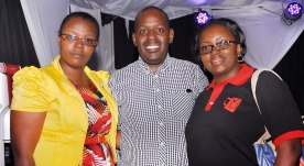 Beatrice Karomo, Michael Mutua and Njeri Mburu