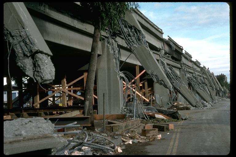Cypress Freeway Collapse