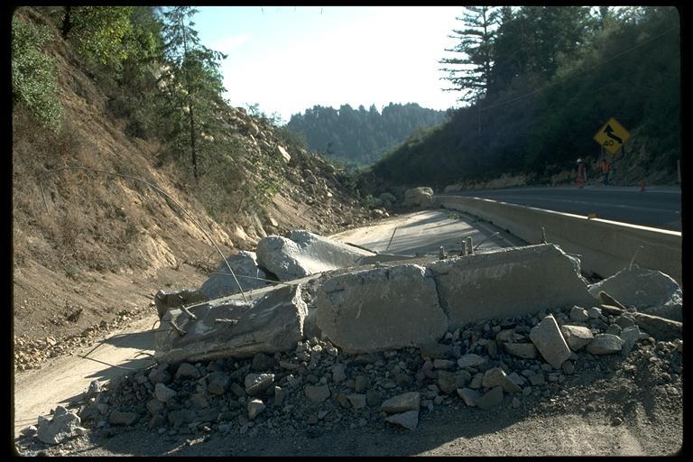 Highway 17 Landslide