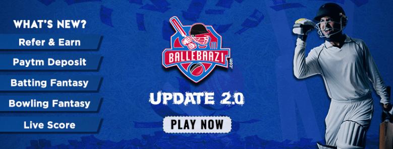 BalleBaazi Fantasy Cricket