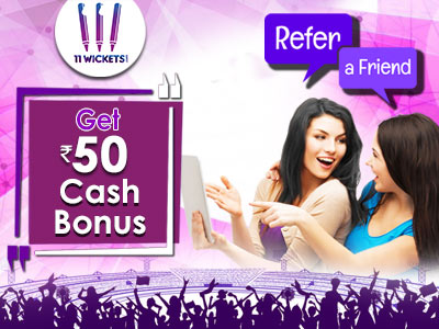 11wickets Referral Code, Refer & Earn Program