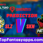 SKN vs SLZ Dream11 Team Prediction Today's Match CPL, 100% Winning