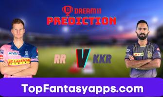 RR vs KKR Dream11 Team Prediction for Todays IPL Match,100% Winning