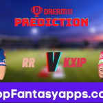 RR vs KXIP Dream11 Team Prediction for Todays IPL Match,100% Winning