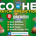 SCO vs HEA Dream11 Team Prediction Today's BBL Match, 100% Winning