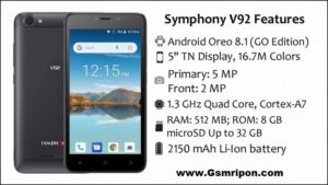 Symphony V92 Flash File 8 1 Oreo Care Firmware Download ⋆ Top