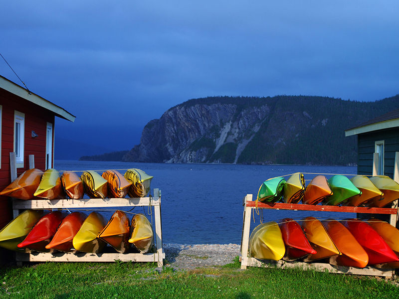 Newfoundland - Kayaks - Feature