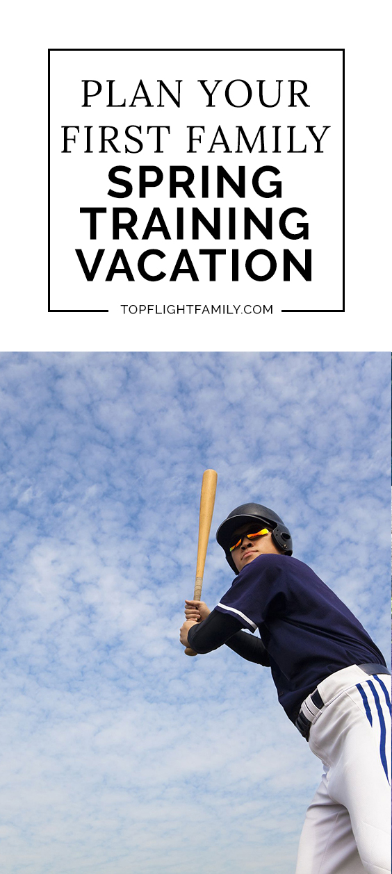 Even if your family members aren't die-hard baseball fans, taking a baseball spring training vacation can be fun. Here's how to plan your first experience.