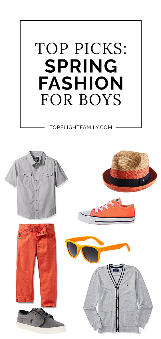 Get your little man ready for warmer weather with this boys spring outfits guide, from fedoras to shorts, from sunglasses to sneakers.