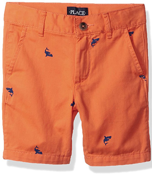 Children's Place Boys' Conversation Print Shorts
