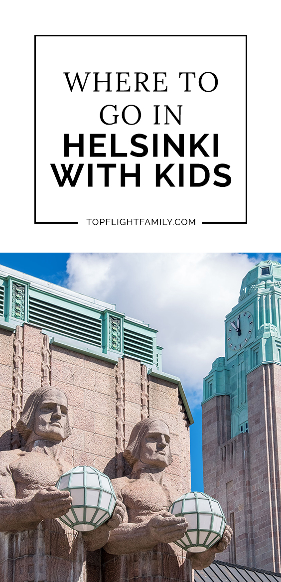 Helsinki is remarkably family-friendly, even for small kids. If you're look for the best Helsinki attractions to visit with kids, here's the guide for you.
