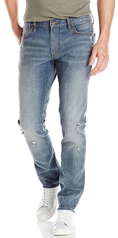 John Varvatos Men's Bowery Distressed Jean