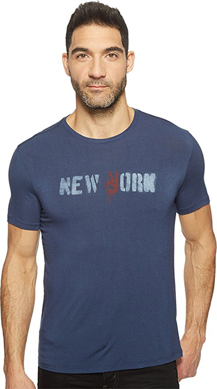 John Varvatos Men's New York Graphic T-Shirt