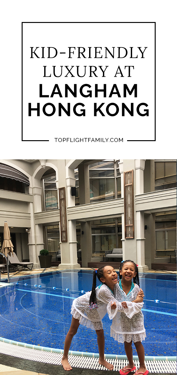 The Langham Hotel Hong Kong is a luxury hotel with an intimate, residential feel. Fantastic at catering to families, it feels like a home away from home.