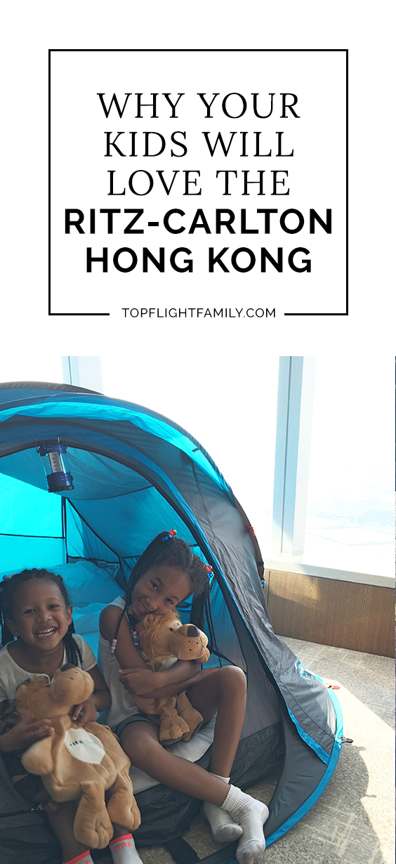If you're traveling to Hong Kong with kids, staying at The Ritz-Carlton Hong Kong is a can't-miss experience for those seeking family-friendly luxury.