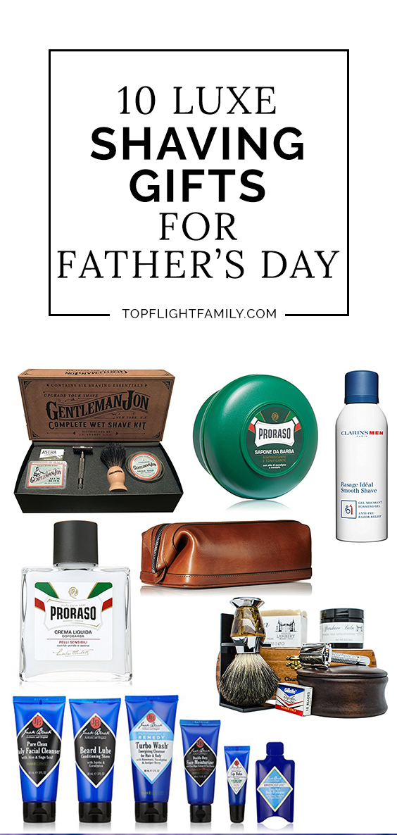 Looking for some Fathers Day present ideas? Check out our guide to the best shaving products and shaving kits for men. Dad will love them, we promise.