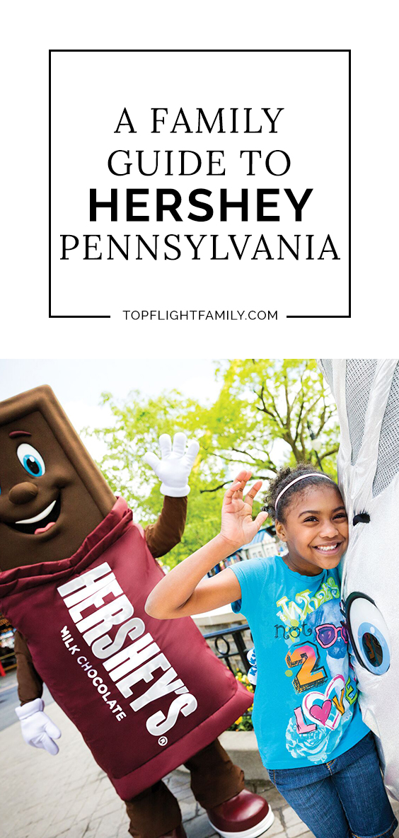 Hershey Pennsylvania has long been a favorite destination for East Coast families. This chocolate-themed town has something for every age.