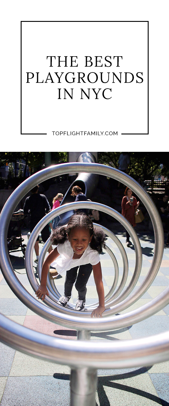 Finding awesome playgrounds where kids can be active can be like stumbling upon hidden treasure. Your search is over: Here are the best playgrounds in NYC.