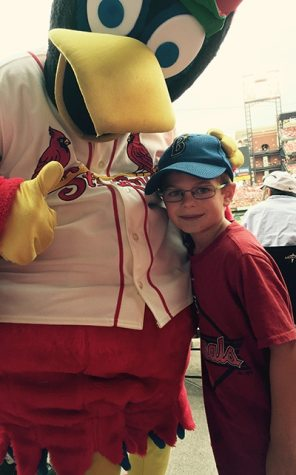 Brenden with Fred Bird